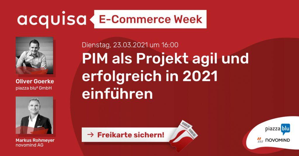 Freikarte für E-Commerce Week sichern